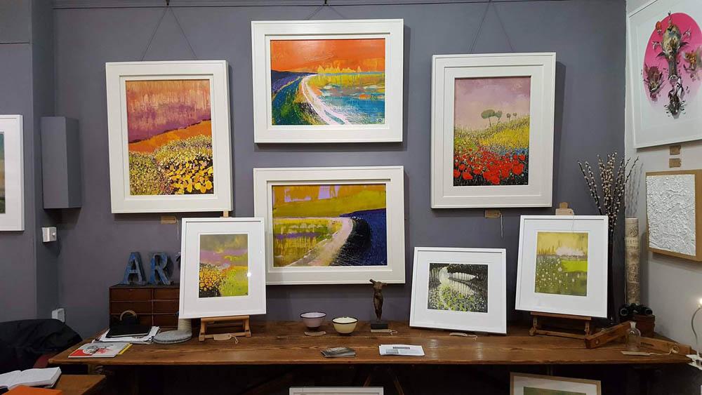 Matthew Rees Artist Frame Examples