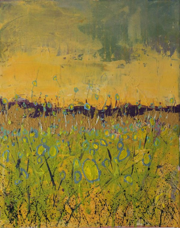Redundant Males 33cm x 41cm Acrylic on canvas Sold Matthew Rees Artist
