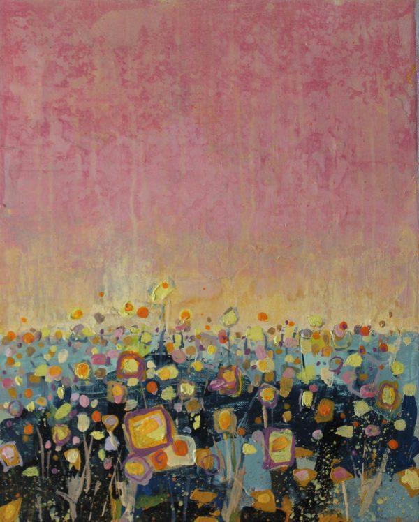 September Morning 33cm x41cm Acrylic on canvas 2016 Sold Matthew Rees Artist