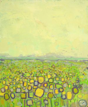 September sunflowers II 49cm x 60cm 2016 Sold (Prints Available) Matthew Rees Artist
