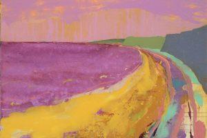 West Coast IV 73cm x 54cm Acrylic on canvas 2018 £1500 framed Matthew Rees Artist