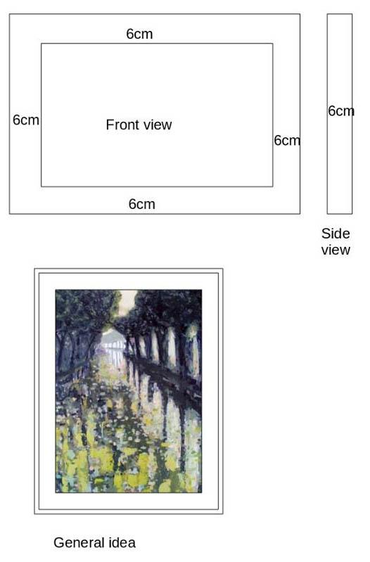 Matthew Rees Artist Frame Details